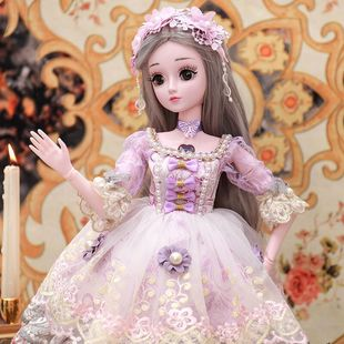 会说话的娃娃智能语音对话超大大号公主60厘米仿真精致洋娃娃