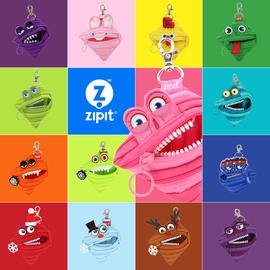 进口正品ZIPIT拉链小号怪兽创意零钱|钥匙|口红|耳机包挂饰 46色图片