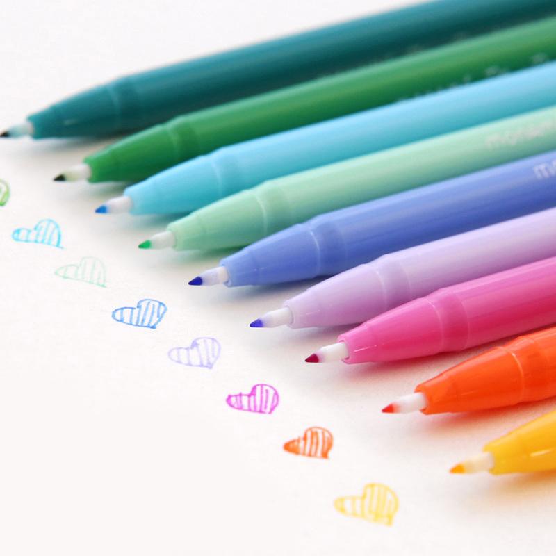 云木杂货 慕娜美3000 水彩笔彩色水性笔中性笔勾线笔纤维笔文具