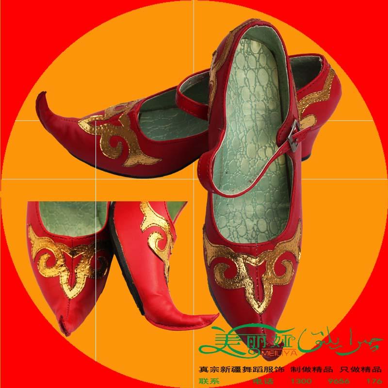 Синьцзян обувь мисс размер Я ваш гонка народ танец кожаная обувь этап производительность из обувь исключительно вручную ветер