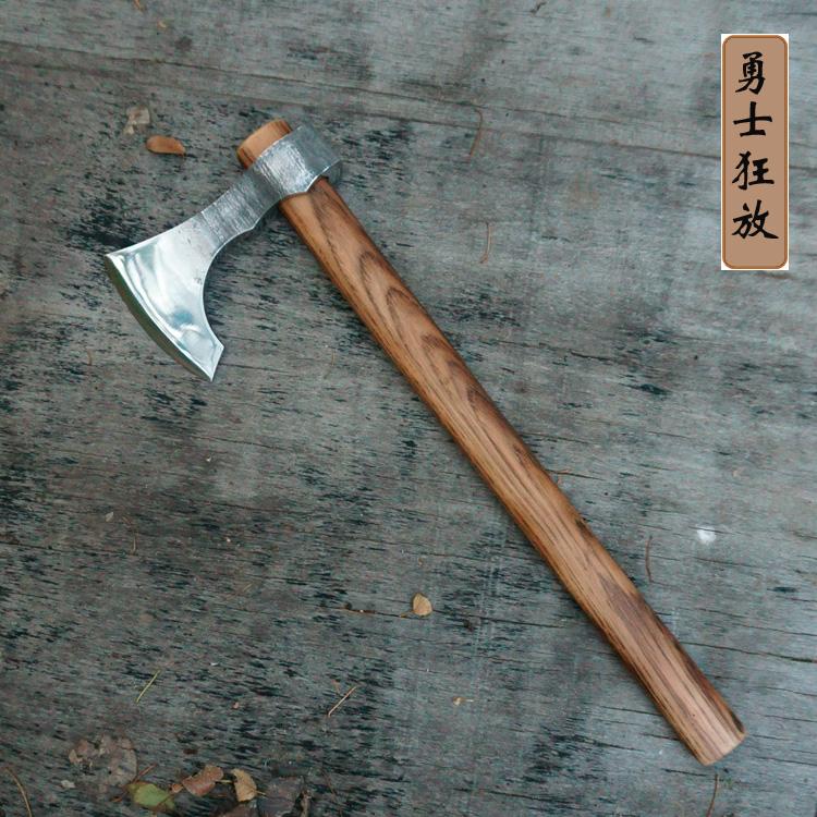 维京斧勇士 开业礼品 镇宅辟邪 户外 装饰 锻打斧 斧头 FRX斧