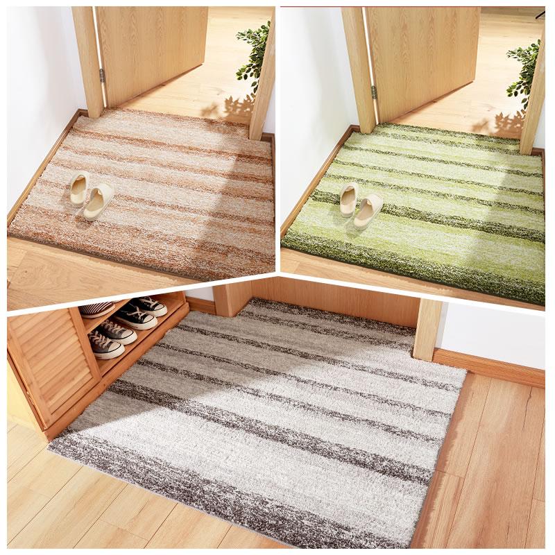 现代简约进门地垫定制入户客厅卧室地毯门垫卫浴门口吸水防滑脚垫