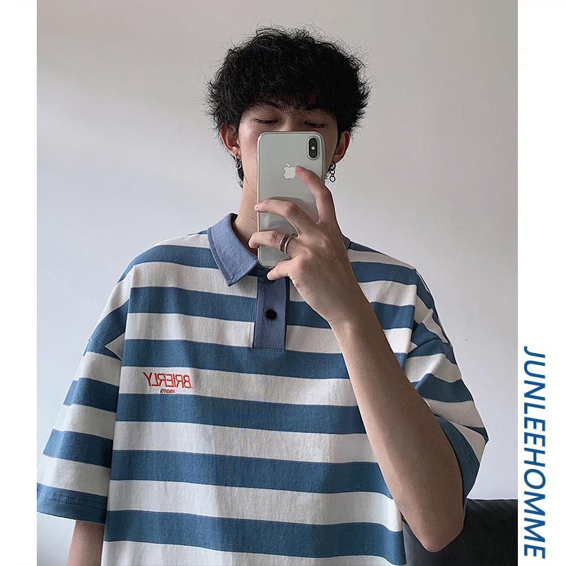 子俊男装夏季ins超火短袖polo衫11-03新券