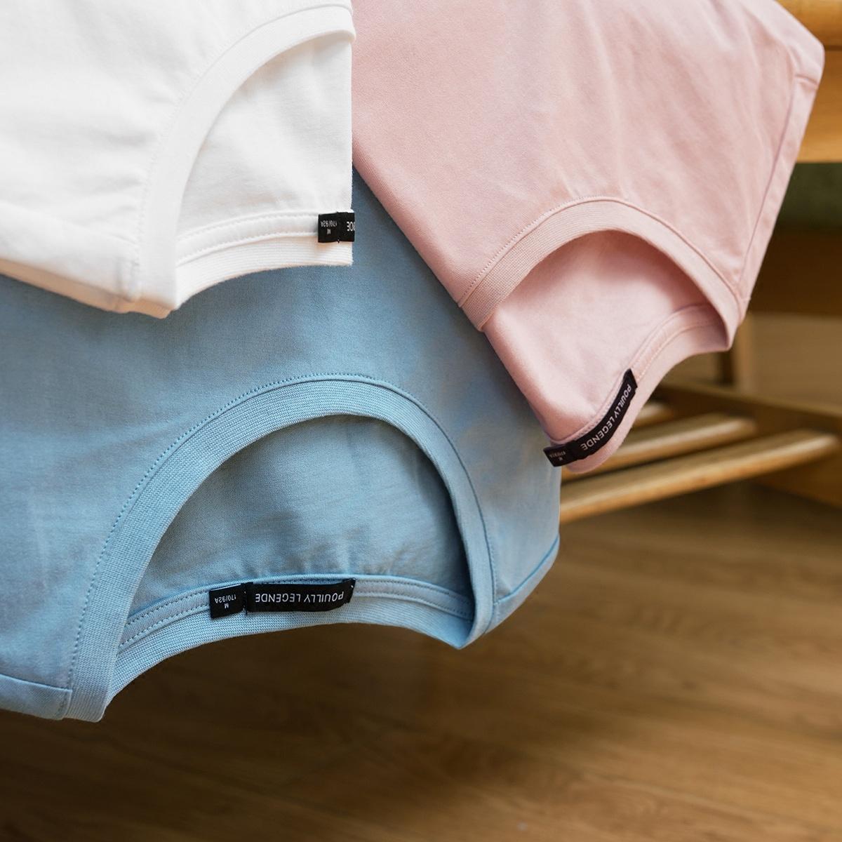 布衣传说50支双股纯棉纯色男士短袖t恤潮流韩版情侣装半袖体恤衫