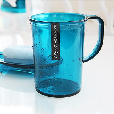 韩国进口创意浴室漱口杯情侣洗漱杯牙刷杯塑料杯刷牙杯子喝水杯