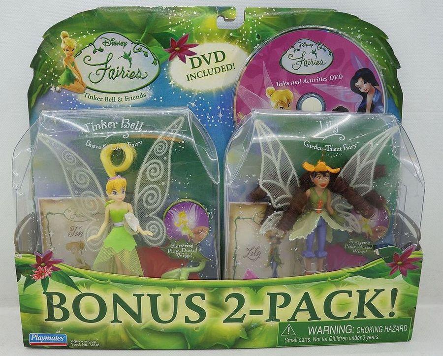 精灵小叮当仙子娃娃和朋友 Disney Fairies Tinker Bell and Lily