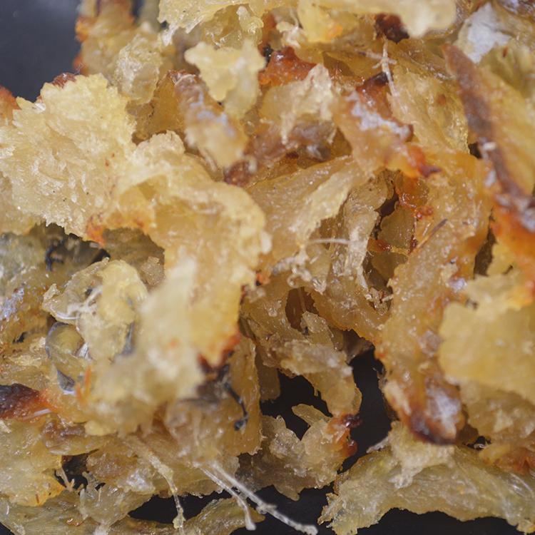 零食烤鱼片鱼干鳕鱼碎片碎肉500g 海味即食马面鱼片休闲零食