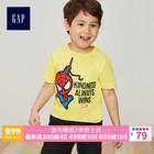 Gap男婴幼童短袖T恤夏季459359漫威Marvel复仇者联盟系列儿童童装 79元