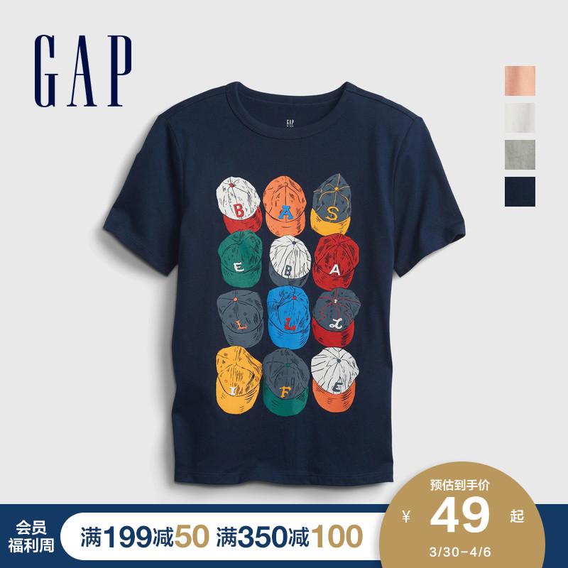 gap男童帅气纯棉短袖夏季新款t恤好不好