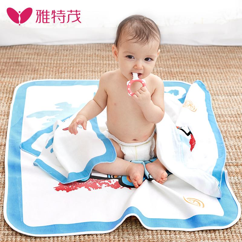 雅特茂嬰兒隔尿墊防水透氣棉床墊巾可洗月經墊寶寶新生用品超大