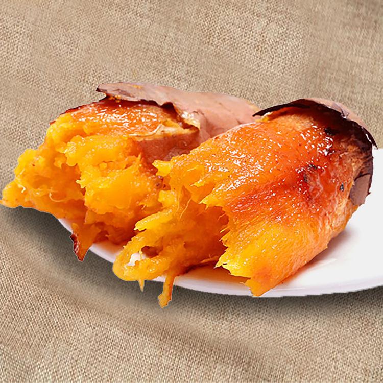 福建六鳌地瓜红蜜薯糖心红薯5斤 新鲜地瓜 农家红心番薯大果