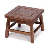 中式仿古实木小凳子板凳家具鸡翅木小方凳矮凳餐凳椅子儿童换鞋凳