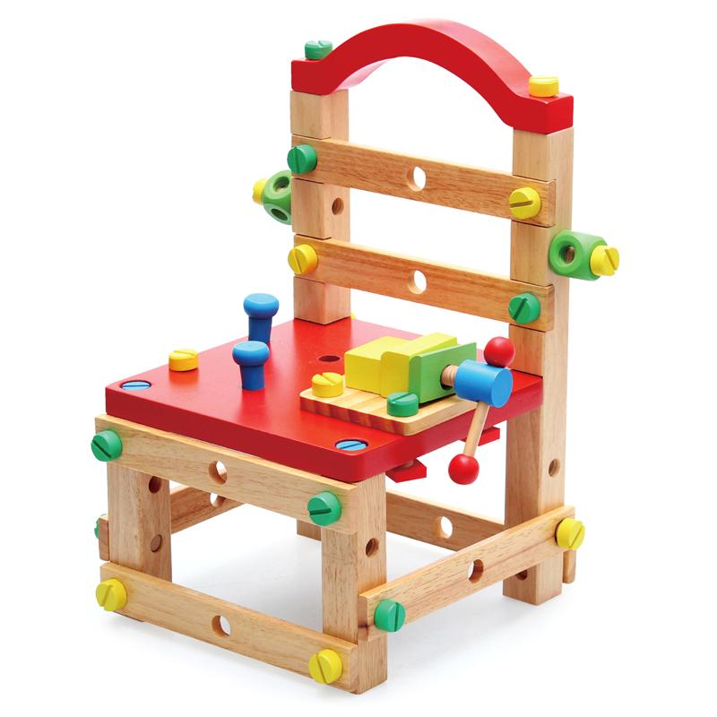 儿童多功能螺母组合拆装拧工作椅