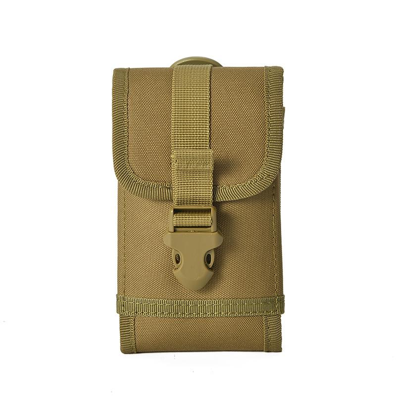 户外插扣手机腰包男穿皮带竖款5.5寸手机腰包6寸大屏手机包挂包