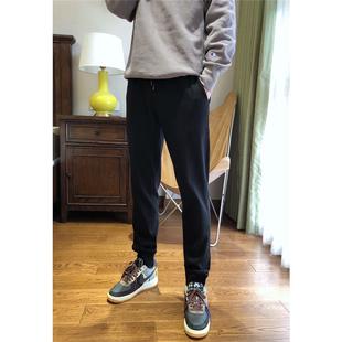 男士福利款 水貂绒加绒加厚舒适帅气有型男士长裤休闲运动裤图片