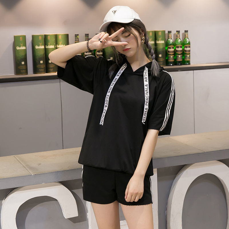 Summer Korean Sports Suit, Wom...