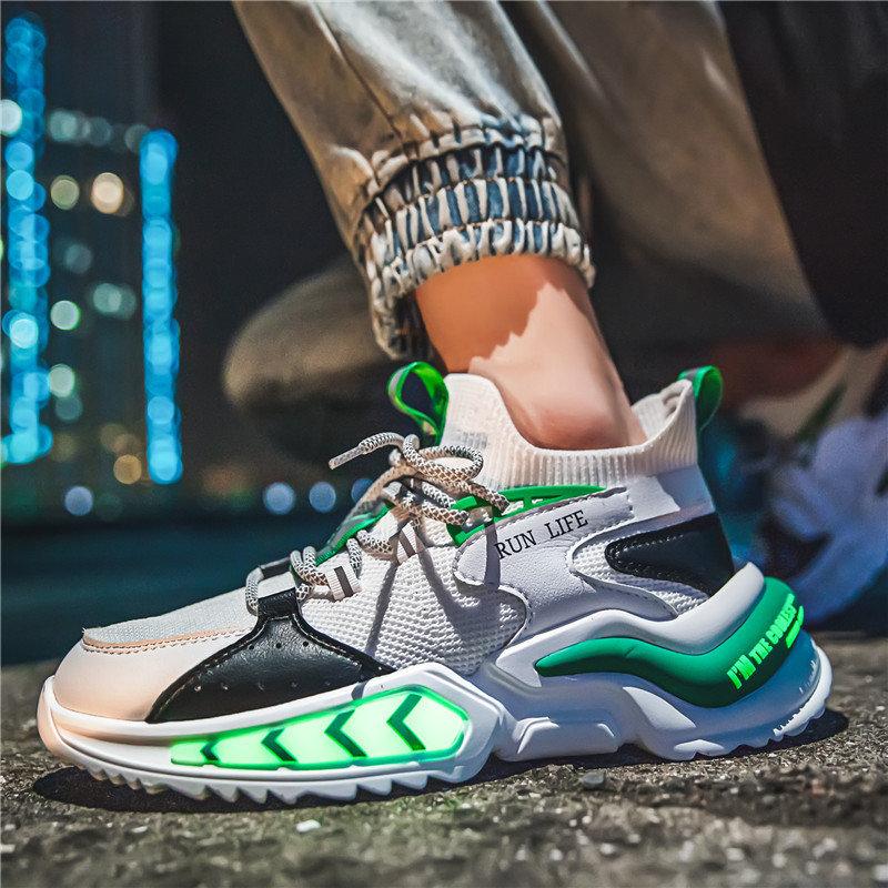 Couple shoes new summer breathable sports shoes Korean leisure shoes mens shoes high top canvas shoes skateboard shoes Tanabata
