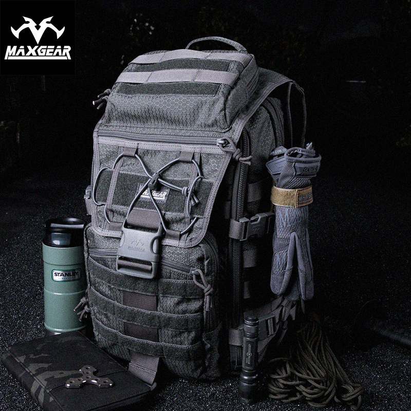 MacGyxian X7 Tactical Attack Backpack Men's Army Fan Outdoor Special Camping Mountaineering Travel Computer Bag