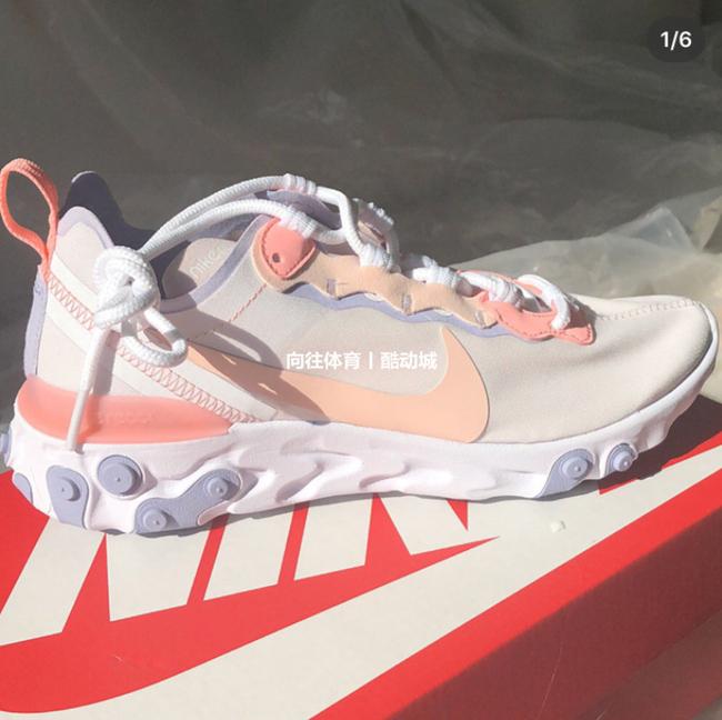 专柜正品 Nike/耐克Element 55 19年新款潮流运动鞋BQ2728 BQ6166