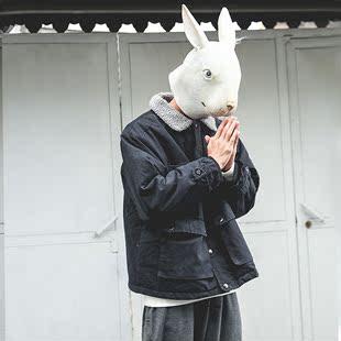 LMTNZD秋冬季棉衣男士韩版潮流加厚工装棉服御寒保暖羊羔毛绒外套