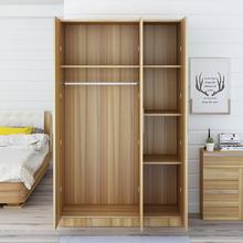 宿舍儿童小衣柜大衣橱 经济型简易收纳卧室衣柜简约现代实木质组装