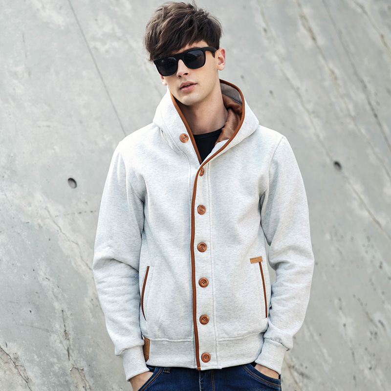 Chao brand hot cross border mens sweater Amazon wish sweater mens jacket cardigan mens Hooded Sweater casual Hoodie