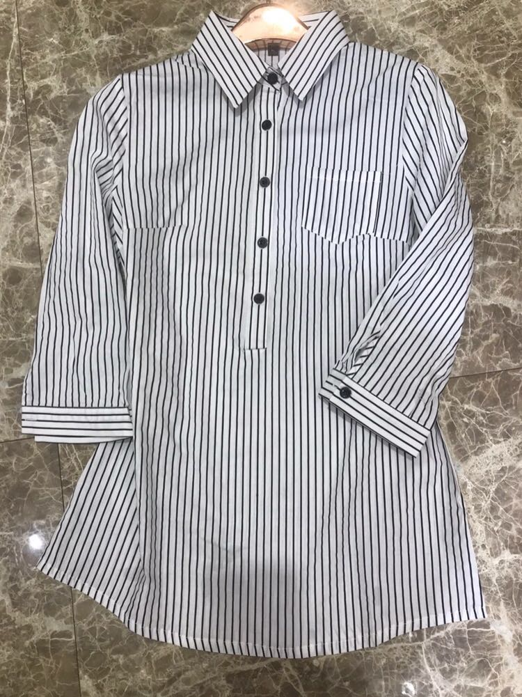 2020 new summer dress with thin sleeves and formal business shirt shirt