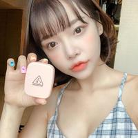 韩国新款3CE清爽滤镜定妆散粉 持久控油哑光遮盖毛孔便携粉饼女