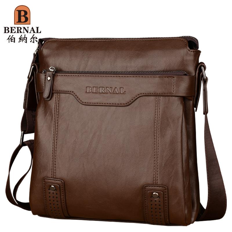 伯納爾雙層 男包 商務男士背包配手包 單肩斜挎公文包包 男