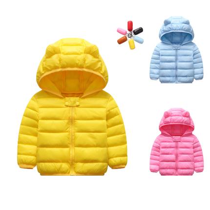 2018新款婴儿棉衣男宝宝冬装儿童轻薄羽绒棉服小童女宝宝棉袄外套