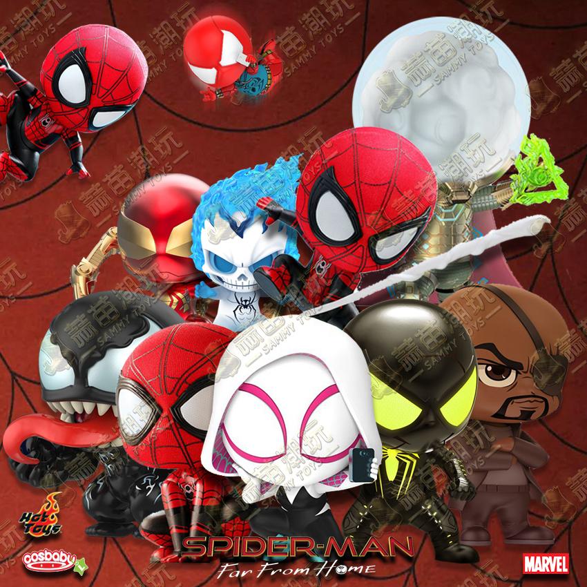30.00元包邮现货ht hottoys cosbaby蜘蛛侠英雄