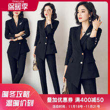 AI Shangchen suit 2019 new fashion fit British women's professional dress ol suit formal coat
