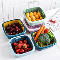廚房置物架瀝水碗架放碗筷碟收納架大號加厚水槽瀝水籃裝碗柜用品