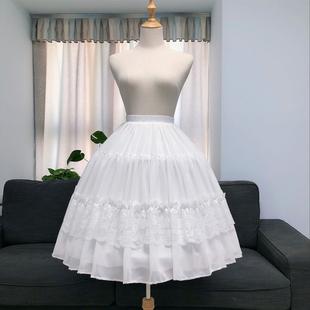 裙撑Lolita暴力卡门鱼骨撑洛丽塔裙撑可调节日常撑中长款花田喜事