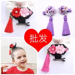 儿童发夹头饰还珠格格流苏款发饰古典中国风女孩发卡公主女童头花