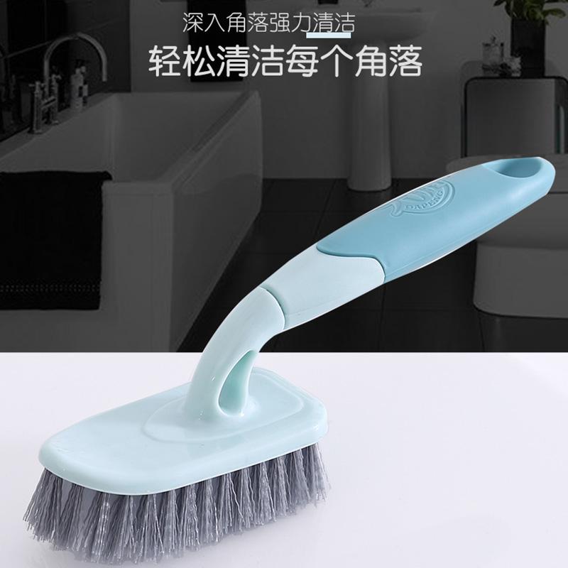 大鹏地板浴缸刷地刷子卫生间大小号长柄硬毛洗厕所瓷砖把手清洁刷