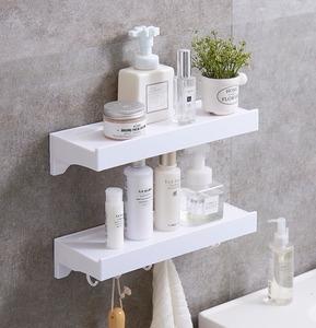 卫生间置物架壁挂浴室置物架免打孔厕所吸壁式吸盘卫浴用品收纳架