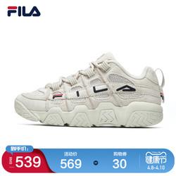 FILA 斐乐官方情侣老爹篮球鞋男女2021春夏新款低帮休闲鞋运动鞋
