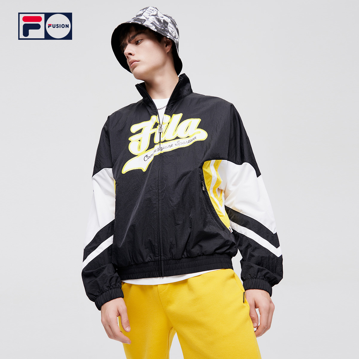 FILA FUSION Fi Tide Medal San Coat 2021 Summer New Fashion Sports Loose Jacket