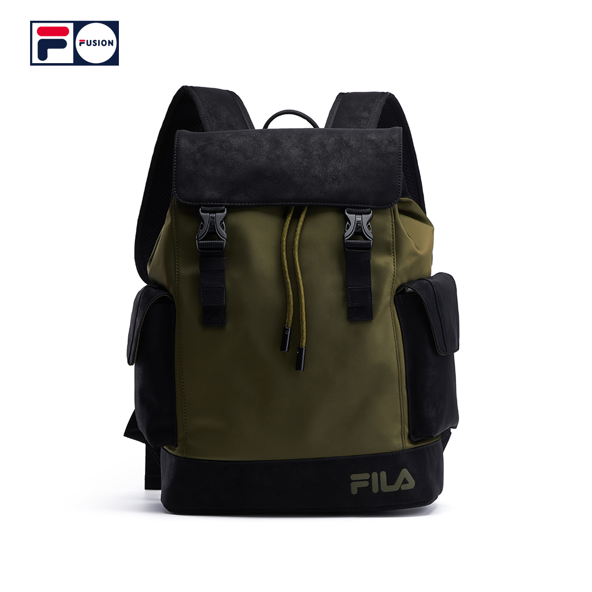 FILA fusion couple Backpack NEW frosted fashion brand backpack for men and women in spring 2020