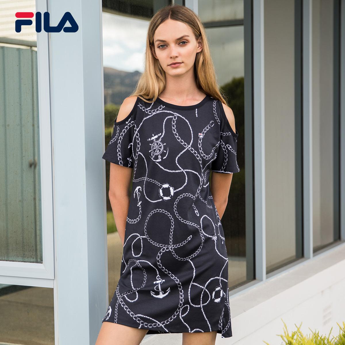 FILA Фила юбка 2018 лето новая коллекция для отдыха Спортивное плечо для спортивного плеча