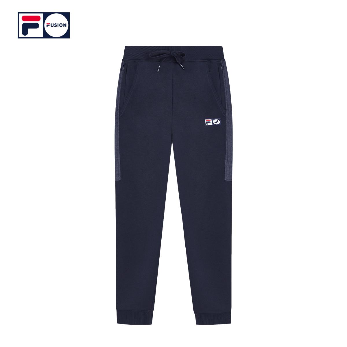FILA FUSION X Staple斐乐长裤男2018秋季新品宽松透气运动裤男