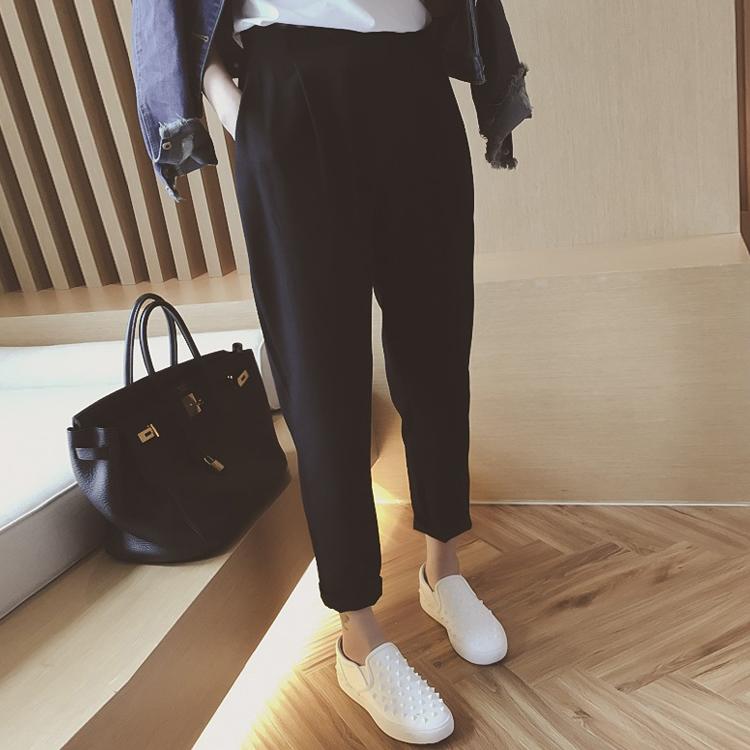 2018秋装特大码女装韩版胖妹妹休闲裤200斤胖人裤子加肥加大显瘦
