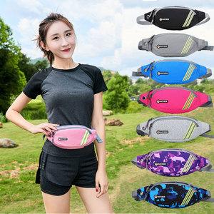 运动腰包女2021新款男户外跑步手机韩版时尚多功能旅游防水大容量