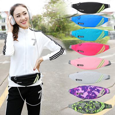 攀越者运动腰包女跑步手机腰包男斜挎多功能旅游超轻新款时尚小包