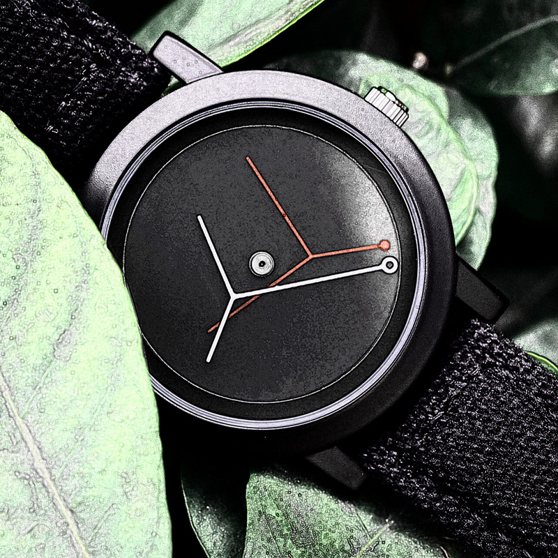Enmex creative design branch concept watch simple two pin Watch