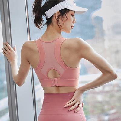 高强度运动内衣防震防下垂跑步美背聚拢定型背心式文胸瑜伽健身女