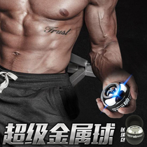 Self-starter wrist Force ball player metal wrist ball automatic gripper gyroscope ball wrist device Fitness