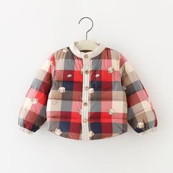 男女童宝宝加厚羽绒内胆90白鸭绒婴幼儿保暖羽绒服胆小童冬装外套