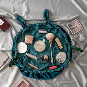 懒人化妆品收纳包女网红旅行随身便携袋小号抽绳ins风超火大容量